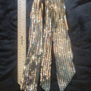 Vintage Scarf Tie Belt